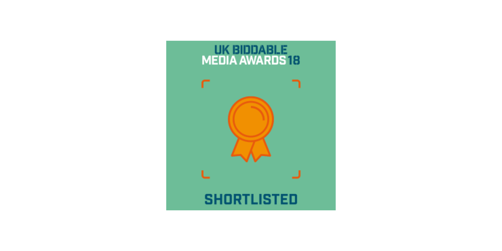 UK Biddable Media Awards 2018 Finalist