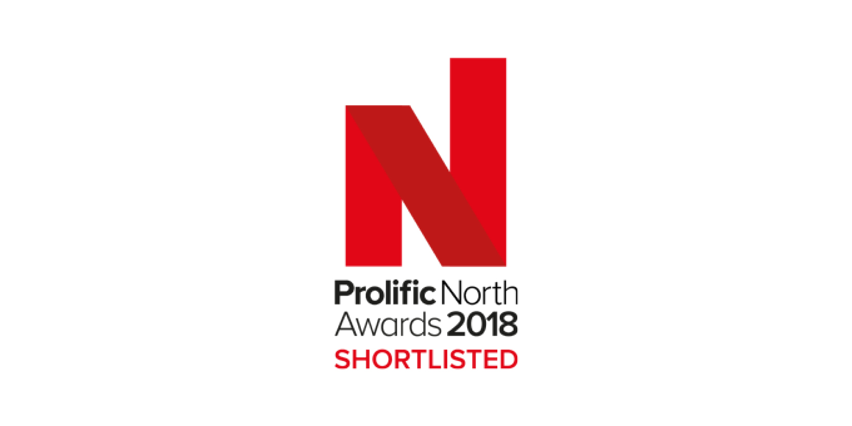 Prolific North Awards 2018 Finalist